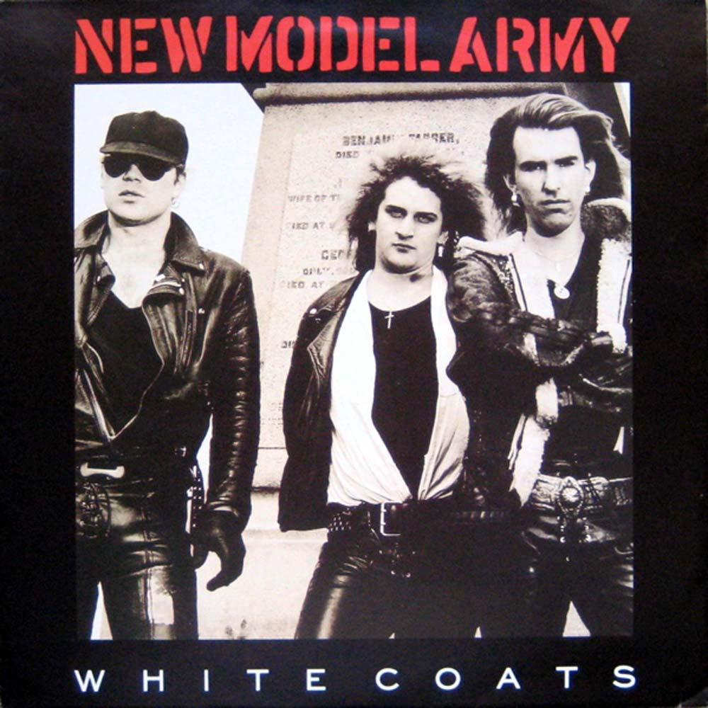 New Model Army - White Coats EP (1987)